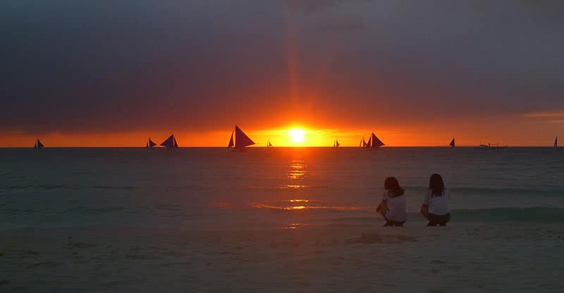 Boracay Island Shown in Picture Galleries