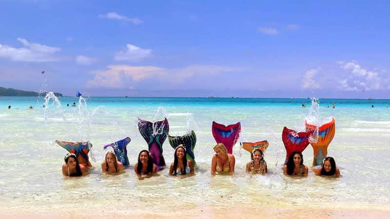 Mermaid Swimming and Photoshoot